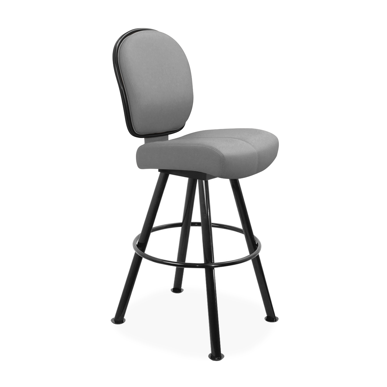 4-Leg Base With Round Footrest