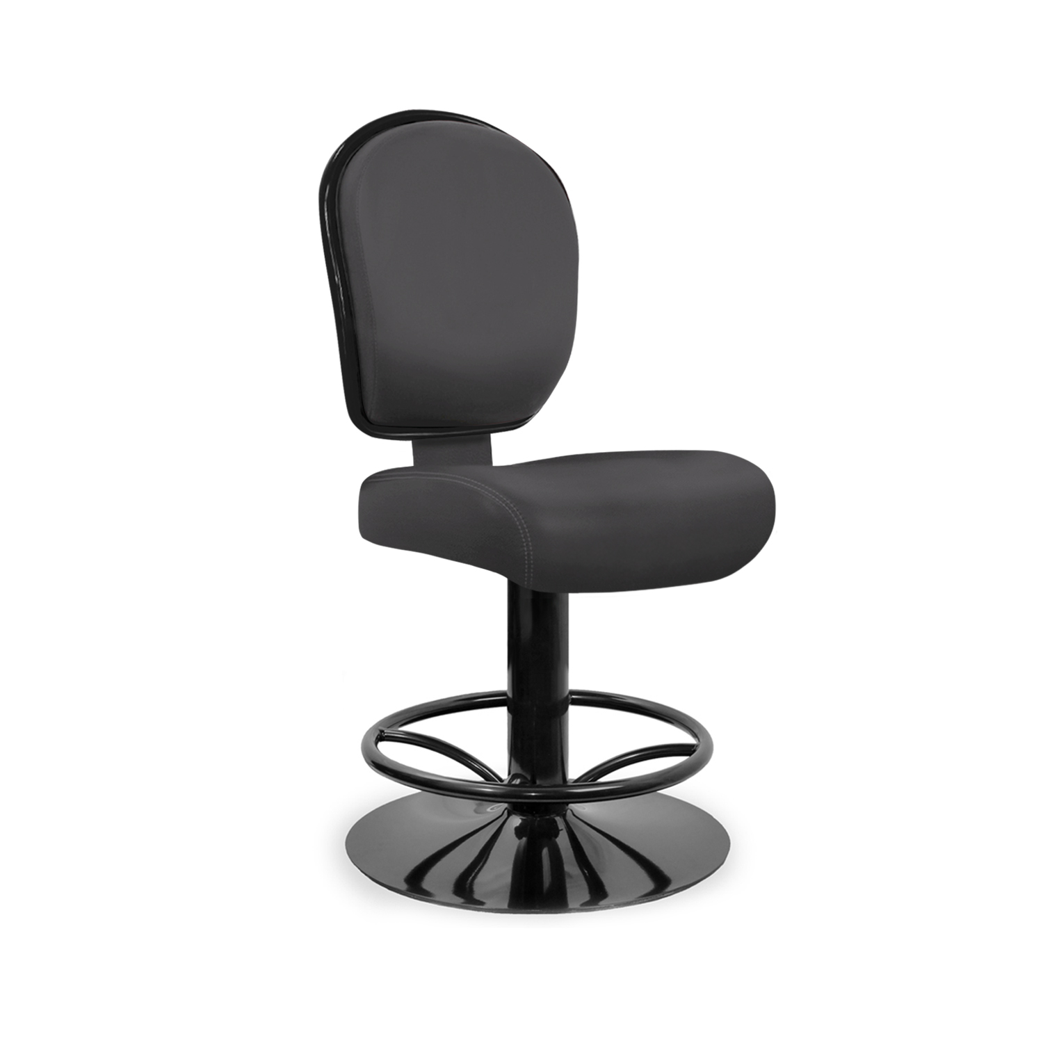 Fixed Pedestal with Curved Spoke Footrest