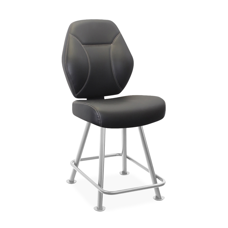 4-Leg Base With External Rectangular Footrest