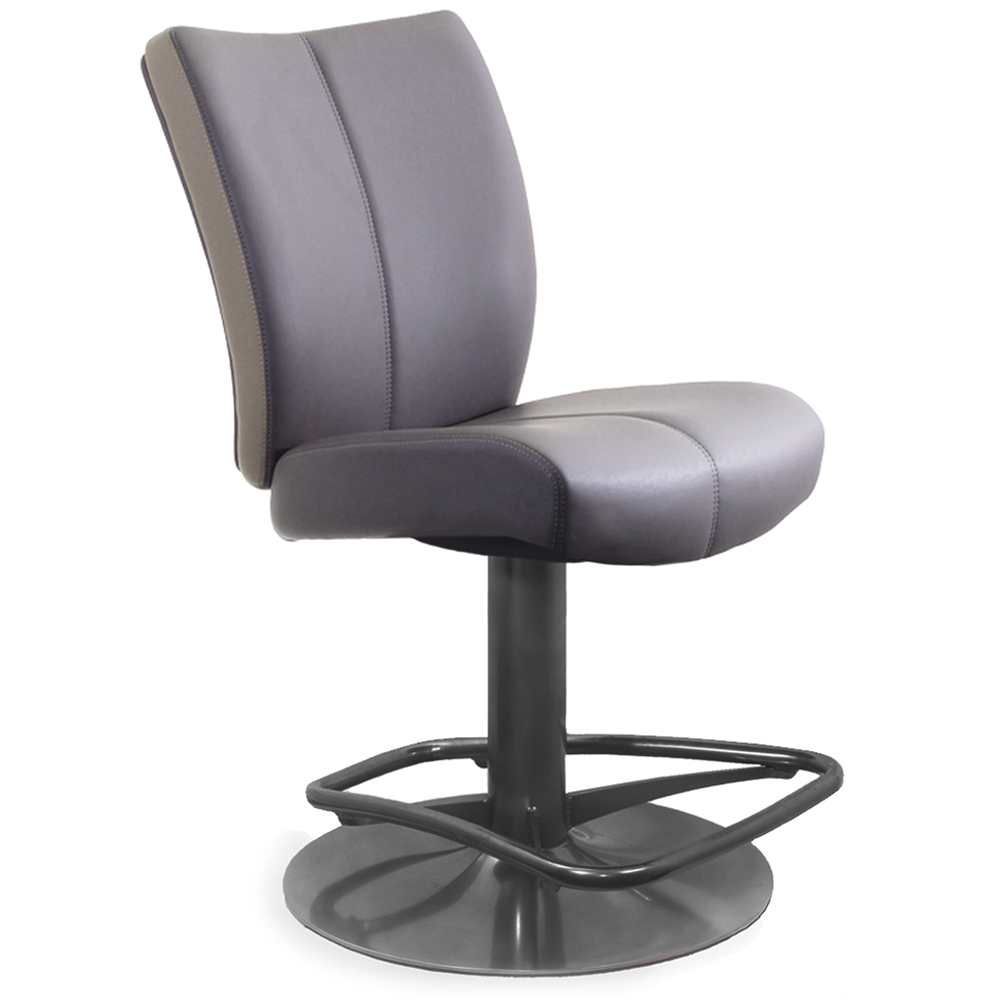 Lido Low Back Slot Seating Pedestal Base