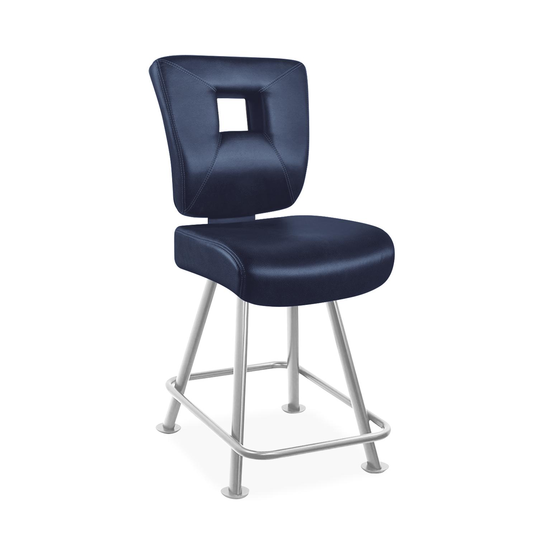 4 Leg Base With External Rectangular Footrest